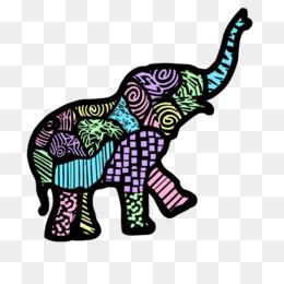 Wallpapers Elefantes Animados