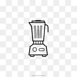 Licuadora Dibujo Para Colorear Libro De Cocina