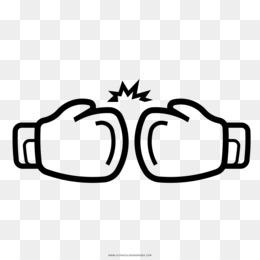 Guante De Boxeo Dibujo Para Colorear Libro Boxeodescargar Libre