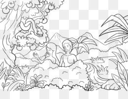 Adán Y Eva Descarga Gratuita De Png Adán Y Eva Del Jardín