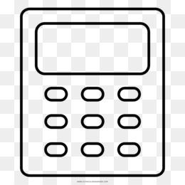 Calculadora De Dibujo Para Colorear Libro Teclados Numéricos