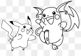 Pikachu Un Raichu Libro Para Colorear De Pokemon Que Pichu