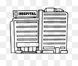 El Hospital De Niños De Dibujo Libro De Colorear Para Los