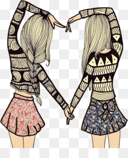 Oso Mejores Amigos Para Siempre Dibujo Imagen Png Imagen Transparente Descarga Gratuita