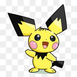 Pokemon Black White Picchu Pikachu Raichu Drawing Machu