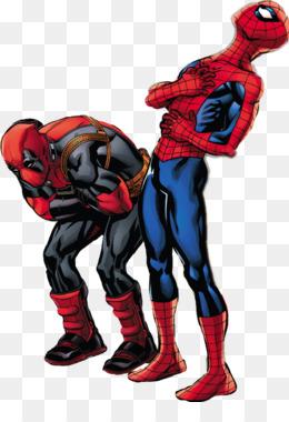 Deadpool Spiderman Comics Imagen Png Imagen Transparente