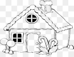 Casa De Pan De Jengibre Libro Para Colorear De Navidad Dibujos Para